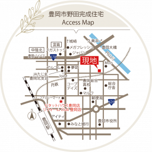丸谷様邸地図